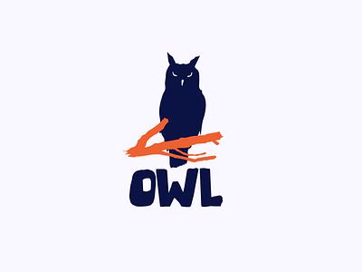 OWL logo concept V.2 branding shape icon bird logo design owl illustration logodesign mark owl logo owl