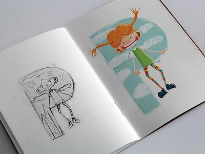 Pippi Sketch