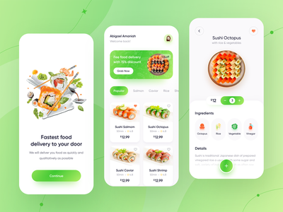 Food Delivery - Mobile App food delivery app food delivery service food delivery restaurant app restaurants restaurant food and drink drink food mobile design mobile mobile app
