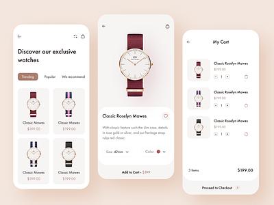 Ecommerce App e-commerce ecommerce shop fashion store mobile app minimal ecommerce app product online store online shop store app