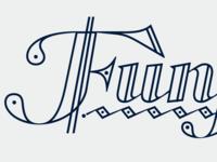 Funfair - custom lettering