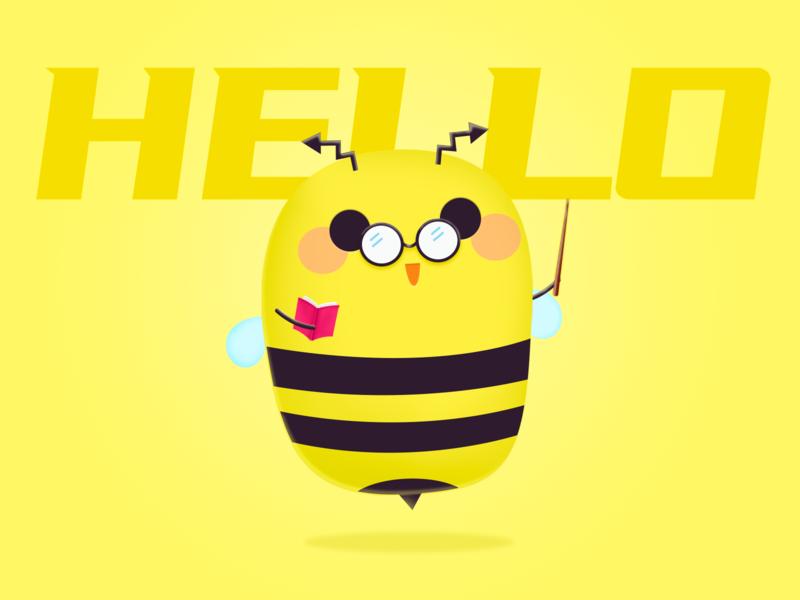Mascot-Hello little bee