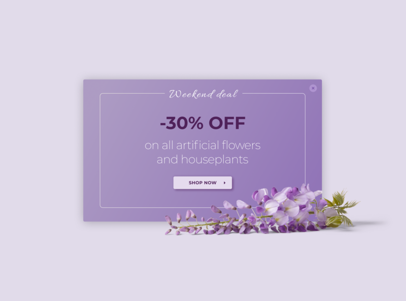 DailyUI #036 - Special Offer 036 deal discount offer special offer popup modal ux figma app design ui dailyui 100days