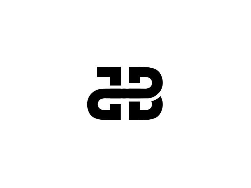 JB mark j b letters typeface monogram logo