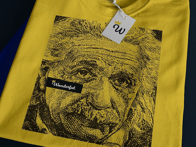 Einstein Money Tee