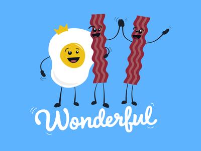 Wonderful Breakfast Friends