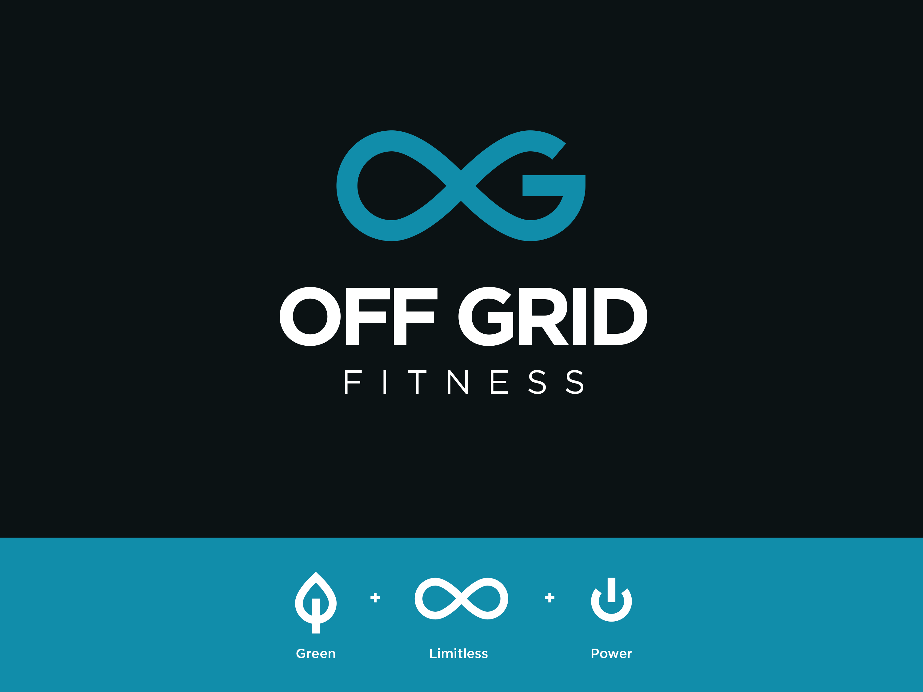 off grid fitness logo by adam dorsey on dribbble off grid fitness logo by adam dorsey on
