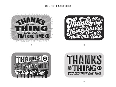 Thank You Gift Card for Target groovy 70s thanks thank you card target type script lettering script font gift card thank you script lettering