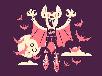 Seattle Monster Mash 8/31 seattlemonstermash halloween illustration bats argyle dracula monster horror