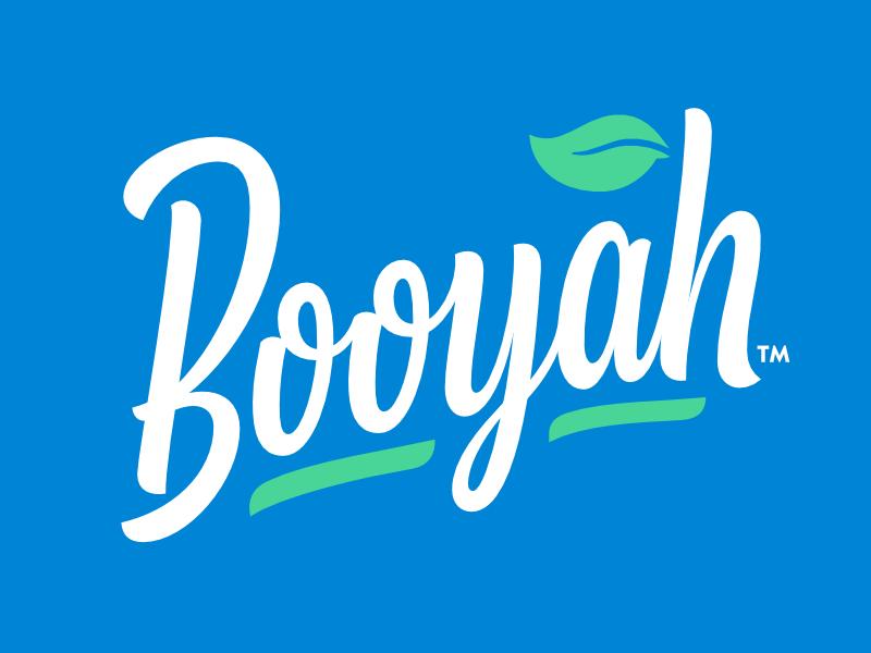 Booyah promo dribbble logo 2