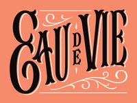 Eau De Vie Logotype