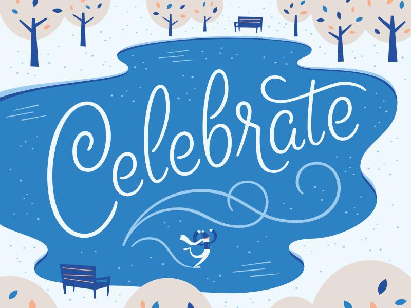 Celebrate dribbble