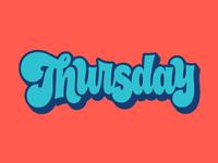 Facebook Stickers: Thursday