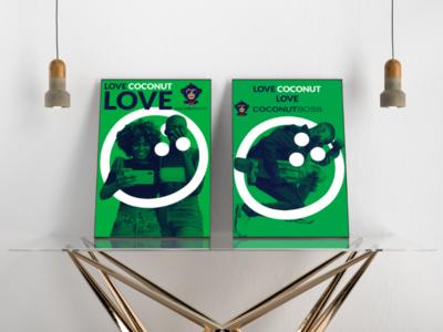 Poster design for coconut boss