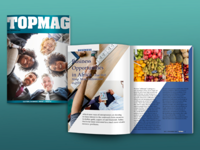 Magazine design TopMag