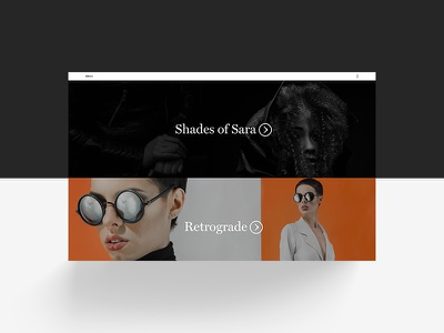 Introducing — Theme Albers project gallery collection landing simple cover site format portfolio theme