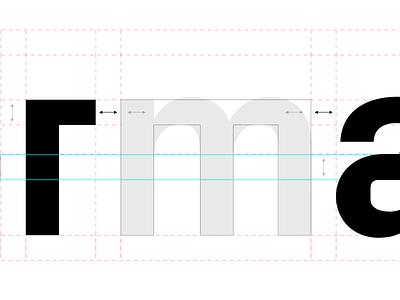 Custom version of Px Grotesk rebrand animation redesign motion logo brand