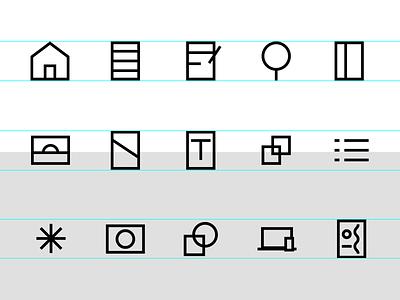 Icon Suite rebrand icon design