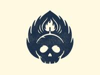 Skull & Hop Flames