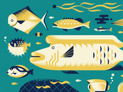Abzu Friends texture video games diver sea life ocean underwater just keep swimming illustration game art fish blub aquatic abzu