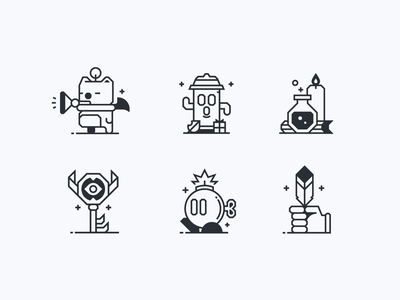 Office Icons games moogle illustration iconset logos discord icons iconography