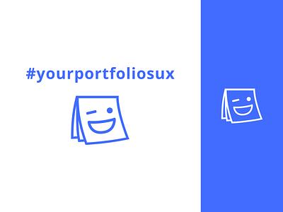 UX Design Meet-up Logo for #yourportfoliosux branding group meetup ux logo
