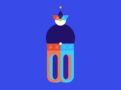 Efrit 🌙 music fantasy jinn magic digital illustration genee efrit moon
