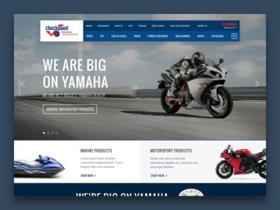 Local Yamaha Dealership Website