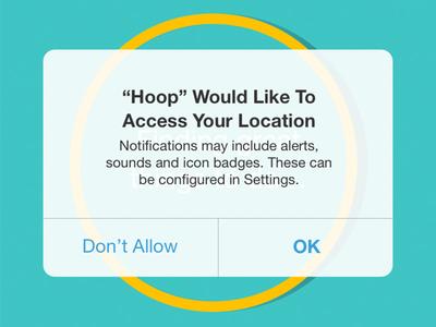 Hoop Location