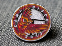 Camp Bisco Owl Pin