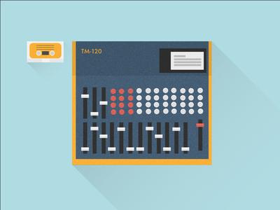 Sound Engineering illustration