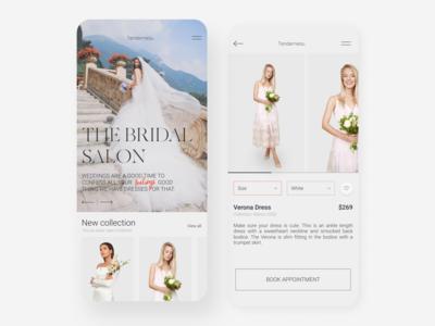 The Bridal Salon - Mobile App