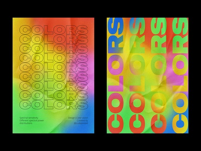 "Poster ""Color vision"""