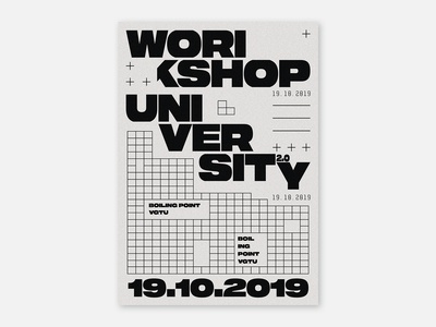 Poster - Workshop University 2.0