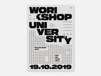 Poster - Workshop University 2.0