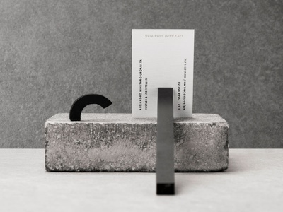 Canvas logotype concrete branding mexico