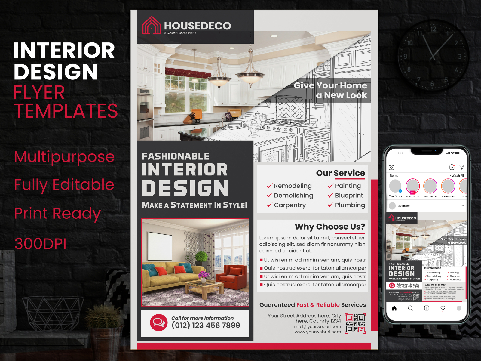 Interior Flyer Template Interior Design Flyer By Rohan Mustafiz On Dribbble,Fractal Design Define R4 Hdd Cage