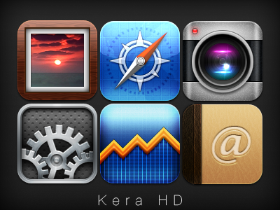 Kera HD - iPhone Theme iphone ipodtouch theme winterboard ios hd retina
