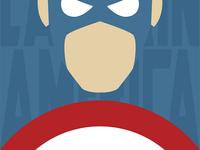 Minimal Captain America
