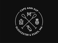 Cape Ann SUP Logo Badge