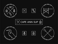 Cape Ann SUP Brand Assets