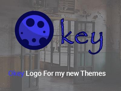 Okey Logo ux ai ui psd news illustration ahq abdellatief qwhayf themes logo okey