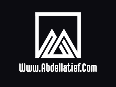 Abdellatief Qwhayf Personal Logo studio ux ui abdellatief ahq qwhayf stationary personal identity logo iconic icon design branding