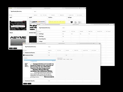 TypeFoundry.Directory webdesign type:face=triptych type:face=triptych website directory type foundry type foundries fonts typography type