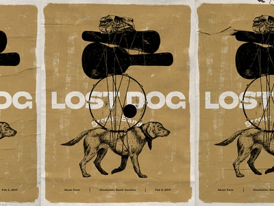 Lost Dog Street Band Gig Poster
