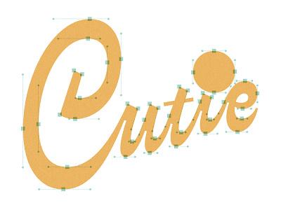 Lettering in Glyphs App reverse contrast script cutie bezier process tutorial glyphs app lettering typography type