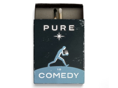 10. Pure Comedy by Father John Misty music matchbox matches father john misty pure comedy lettering typography type