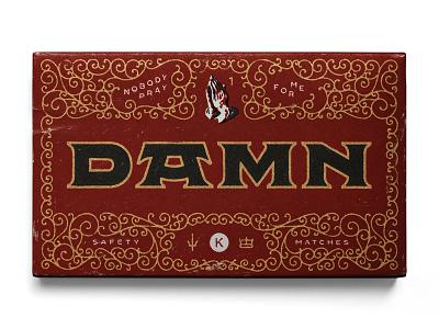01. DAMN. by Kendrick Lamar illustration k dot kendrick lamar damn flourishes ornament lettering type design typography type