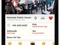 Toronto Patio app