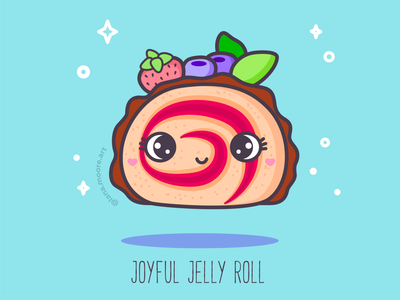 ABC sweets: Joyful Jelly Roll